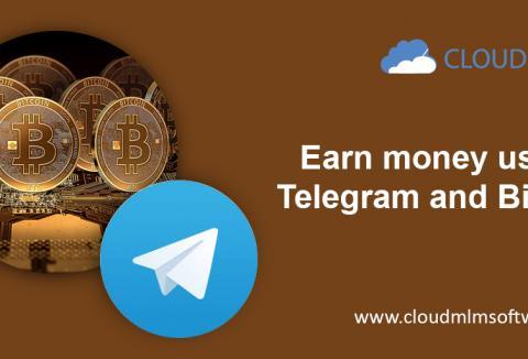 Gagnez de l'argent en utilisant Telegram et Bitcoin