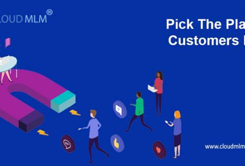 Scegli il piano per il favore dei clienti per un business di successo di MLM